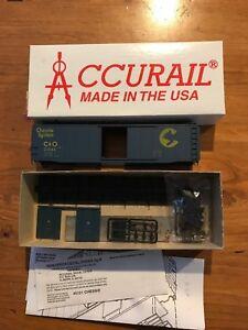 Accurail-5121-HO-50-039-Plug-Door-Boxcar-Kit-Chessie-22543-NIB