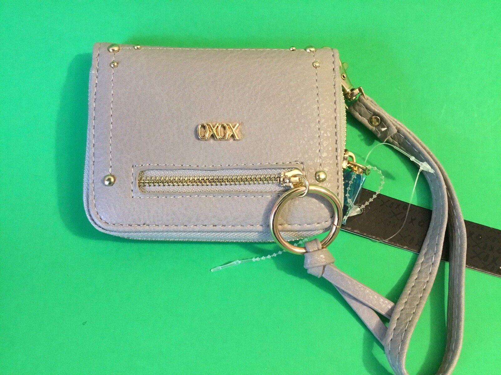 New XOXO Woman's Wallet Gray