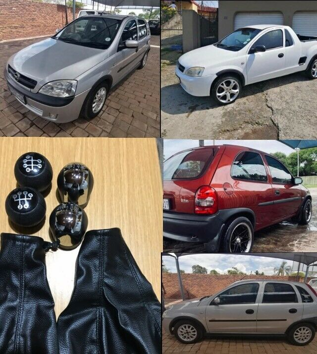 Opel Corsa Brand New  Gearknob & GearCover
