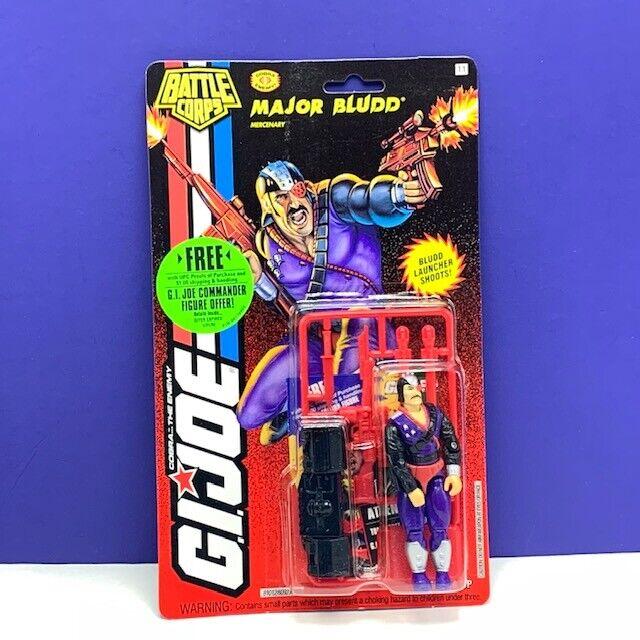 Gi Joe Cobra Figura De Acción 1993 Major azuldd Vintage Moc Hasbro cuerpo de batalla de Colección