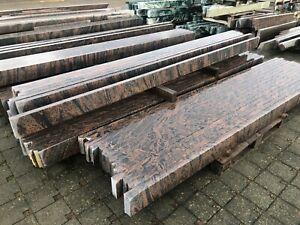 Grabeinfassung Einfassung Urnengrab Bord Naturstein rot Grabstein Umrandung NEU