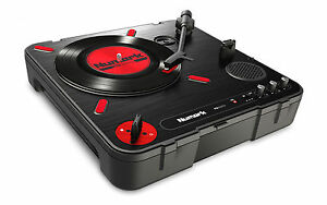 Numark-PT01-Scratch-Turntable-Vinyl-Deck-Portable-Battery-Built-in-Speaker-USB