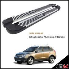 Schwellerrohre Aluminium Trittbretter für Opel Antara 2006> Pyramid (173)