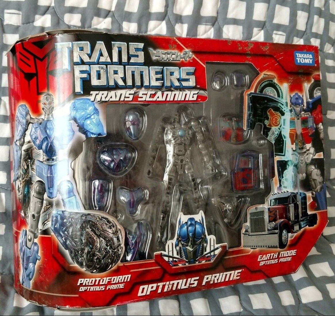 Takara TransFormers Protoform Trans Scanning Optimus Prime Movie MISB G1 aoe NEW