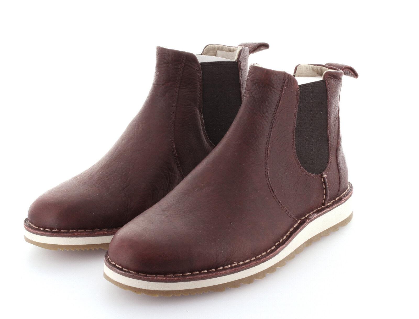 Descuento de la marca Sperry Top Sider Rosyth chelsea Burgundy Boot zapatos botas talla 42/us 9
