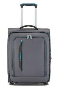 travelite-CrossLITE-2W-Trolley-S-Trolley-Tasche-Anthrazit-Grau-Blau-Neu