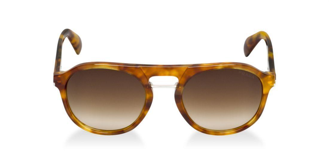 ***Prada AUTHENTIC NEW PR 09PS 100% UV Protection Sunglasses -Light Havana Brown