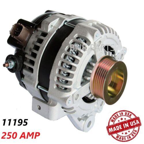 250 AMP 11195 ALTERNATOR Toyota Scion Pontiac 2.4L High Output Performance HD