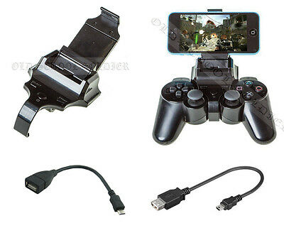 Smart Gameklip Universal Phone Clip Mount - For Ps3 Pad Controller IOS & Android