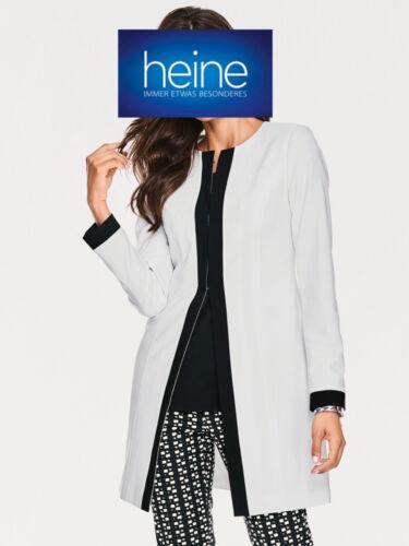 KP 99.90 € SALE/%/%/% Longblazer ASHLEY BROOKE by heine NEU!! ecru//schwarz