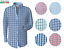 Berlioni-Men-039-s-French-Cuff-Yarn-Dyed-Dress-Shirt-Standard-Fit thumbnail 1