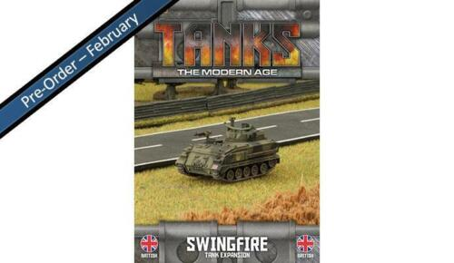 TANKS THE MODERN AGE MTANKS24 SHIPPING NOW BRITISH SWINGFIRE