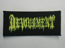 DEVOURMENT BRUTAL DEATH METAL WOVEN PATCH