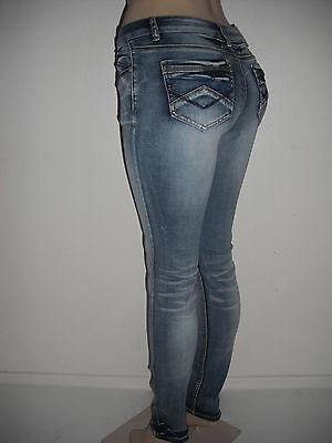NWT SWeet Look Sexy Fashion Slim Skinny, Stretchy Light Blue Stonewashed Jeans