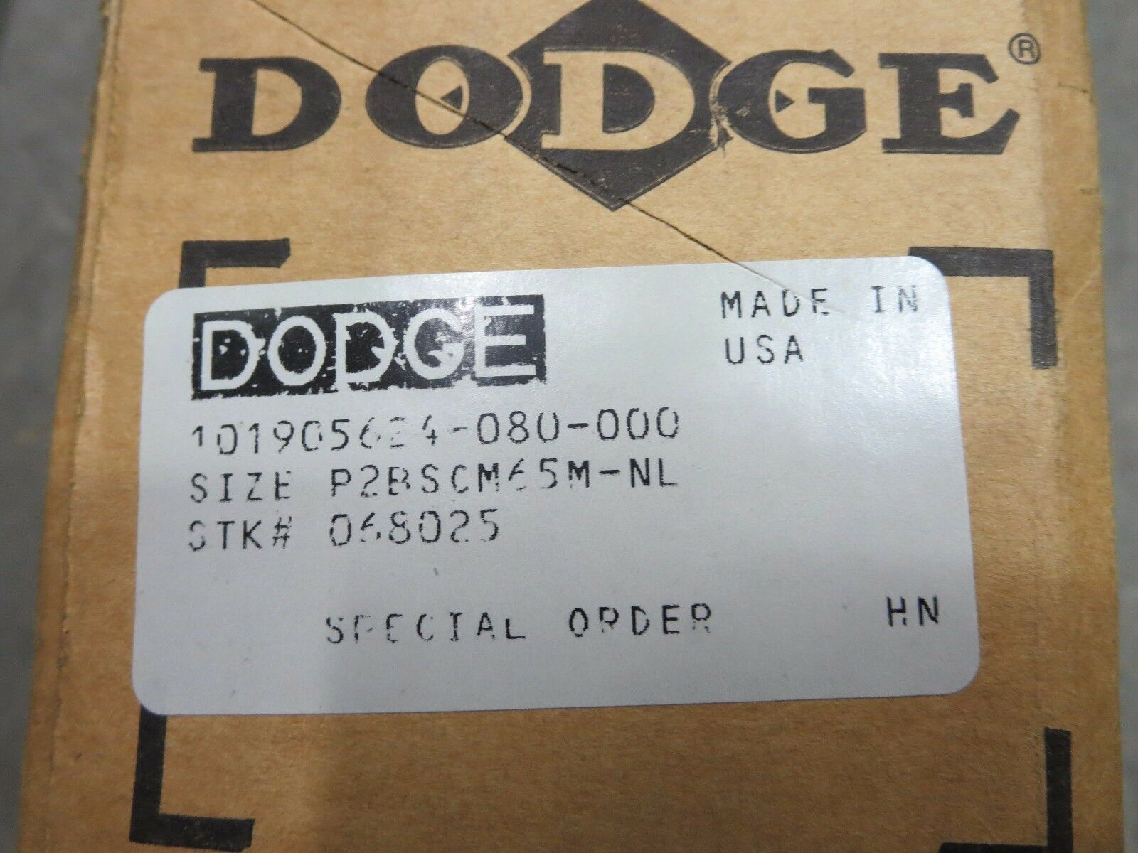 New old stock NS HS GH4 1-3//16-20 Dodge Tap