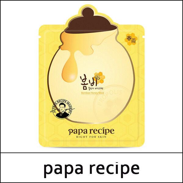 [PAPA RECIPE] Bombee Honey Mask (25g*10ea) 1 Pack / New 2019 / No Box /  (VS넷)