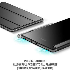 For-Galaxy-Tab-S4-10-5-Poetic-Lumos-X-Flexible-Soft-Transparent-Cover-Black