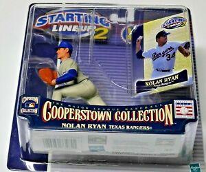 SHARP HTF 2001 NOLAN RYAN COOPERSTOWN Starting Lineup TEXAS RANGERS