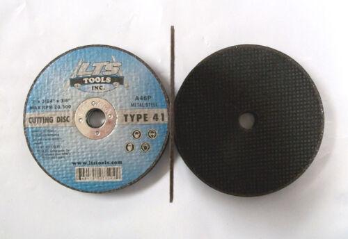 "3/"" X 3//64/"" X 3//8/"" Type 1 Professional 25pc 41 Metal Cut Off Wheels"