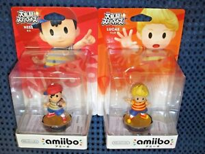 Details about Nintendo amiibo NESS LUCAS SET Earthbound Switch Super Smash  Bros Ultimate JAPAN