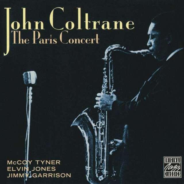 John Coltrane-The Paris Concert CD Original recording reissued  Excellent