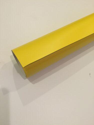 "24""x 30ft Paint Mask Sign Vinyl Film matte yellow; airbrushing,spray painting"