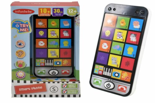Infunbebe Baby Toy Smartphone Mobile Musical Learning Educational Remote Game