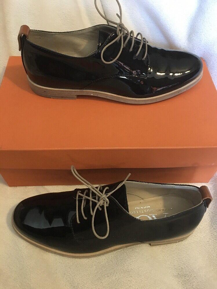 New AGL Attilio Giusti Leombruni Patent Leather Oxford black black Oxford 35.5 cf1d4b