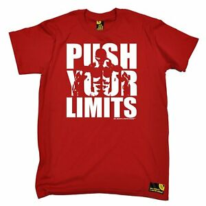 Push-Your-Limits-T-SHIRT-tee-bodybuilding-funny-birthday-gift-present-for-him