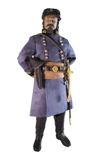 "Mohr Toys 1//6 Scale 12/"" American Civil War Confederate Major George Pickett DM01"