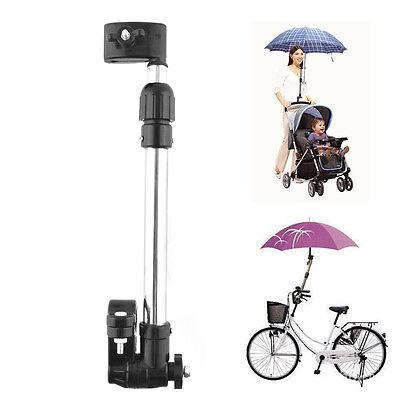 New Useful Baby Buggy Pram Stroller Umbrella  Holder Mount Stand Handle