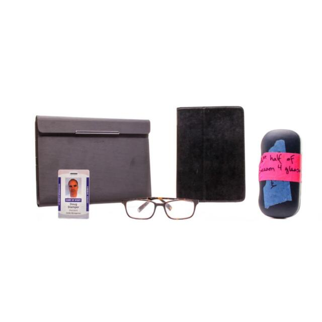 House of Cards Doug Stamper Michael Kelly Screen Used Id Glasses & Tablet Case