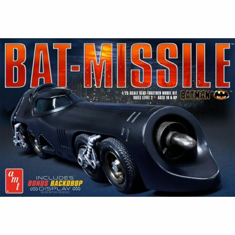 BATMAN BATMOBILE 1 25 BATMISSILE MODEL KIT - OFFICIAL