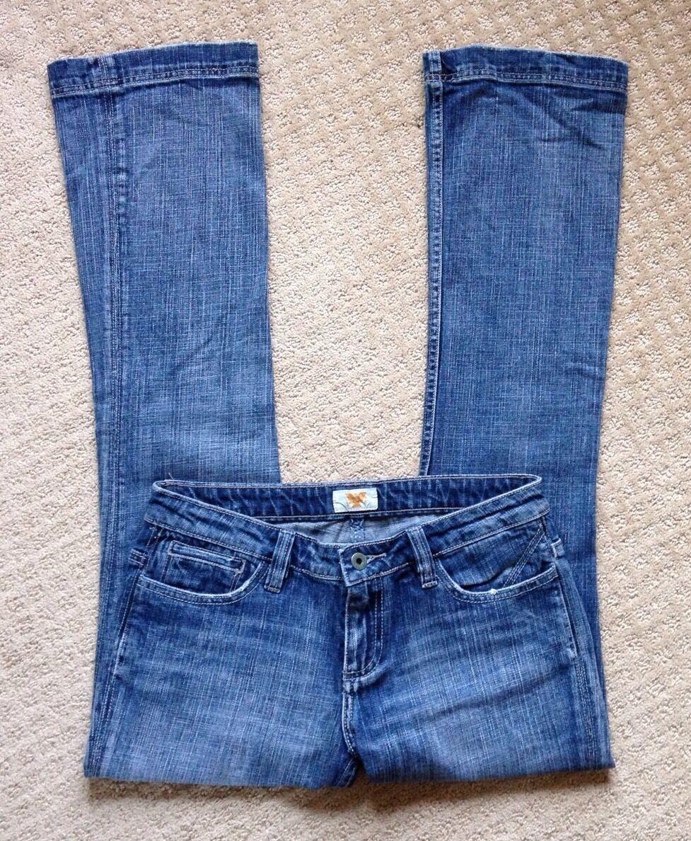 Women's Antik Denim Distressed Bootcut Denim Jeans-Size 29