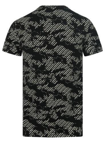Superdry M10106TT 02 A International Monochrome Superdry Logo Tee T-Shirt Noir