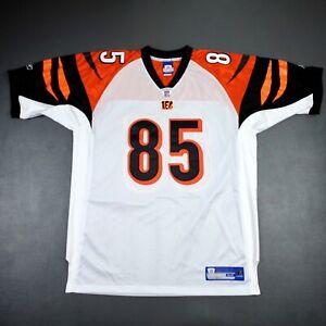 Details about 100% Authentic Chad Johnson Reebok Bengals Jersey Size 54 2XL 3XL Mens