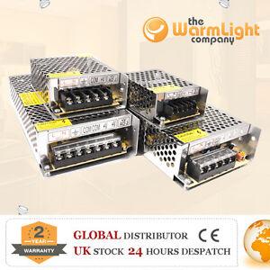 Dimmable-240-V-110-V-DC-12V-24V-1-A-2-A-5-A-10-A-DEL-Driver-Power-Supply-MR16-Bandes