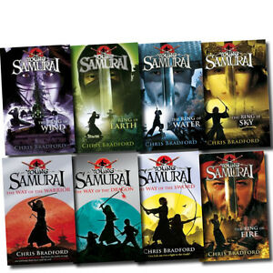 Young-Samurai-Series-Collection-Chris-Bradford-Pack-8-Books-Set-The-Ring-of-Wind