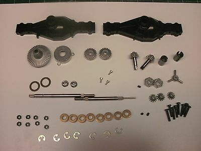 TRACTOR DOUBLE OUTPUT REAR AXLE COMPLETE SCANIA KING 56301 56304 1/14 TAMIYA