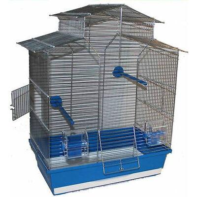 60 cm Vogelkäfig Vogelbauer Wellensittich Kanarien Voliere Vogelhaus Iza 2 ohne