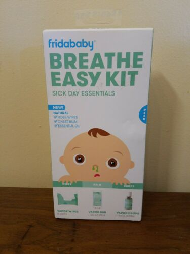 Vapor Rub Fridababy Baby Breathe Easy Kit Sick Day Essentials with Vapor Wipes
