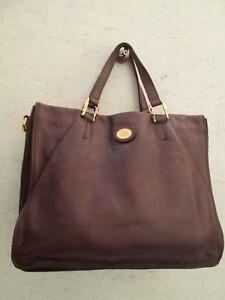 12b0c2d89d Magnifique sac à main style cabas THE BRIDGE en cuir vintage bag ...
