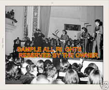 THE BEATLES PHOTO SET 63 SESSION  & GREAT LIVE PHOTO W POLICE ON STAGE 64 2 SETS