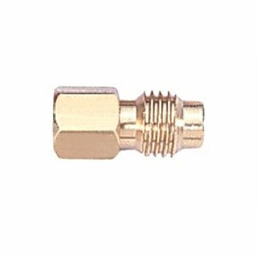 "R134a Hose to Vacuum Pump Adapter 1//4/"" Female to 1//2/"" ACME Male Mastercool 82634"