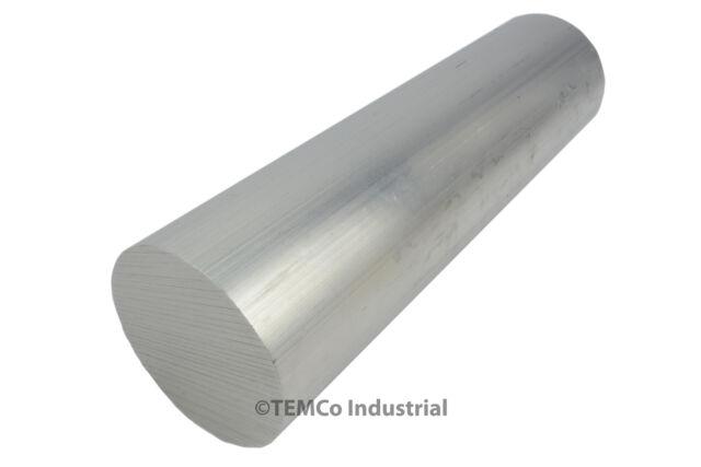 "2.5"" Inch Diameter 8"" Long 6061 Aluminum Round Bar Lathe Rod Stock"