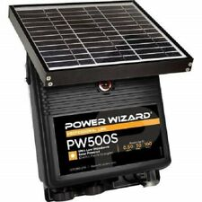 Power Wizard Electric Fence Energizer Solar Charger Pw500s