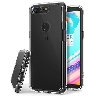 Lovely Oneplus 5t Case fusion Shockproof Protective Clear Cover Raised Bezels Can Be Repeatedly Remolded. Ringke
