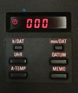 BMW-E30-E28-M3-M5-ATA-OBC-6-Botones-Termometro-Reloj-del-equipo