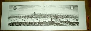 London-alte-Ansicht-Merian-Druck-Stich-1650-schw-Staedteansicht-England-GB