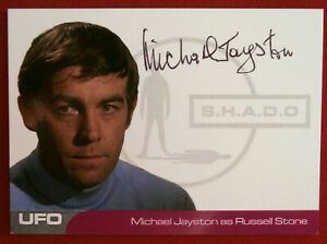 Gerry Anderson UFO Unstoppable Michael Jayston Autograph Card MJ2 Russell Stone